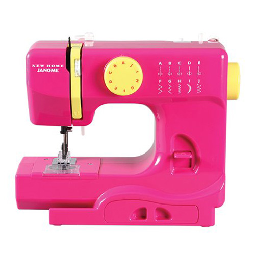 Janome Fastlane Fuchsia Portable Compact Sewing Machine
