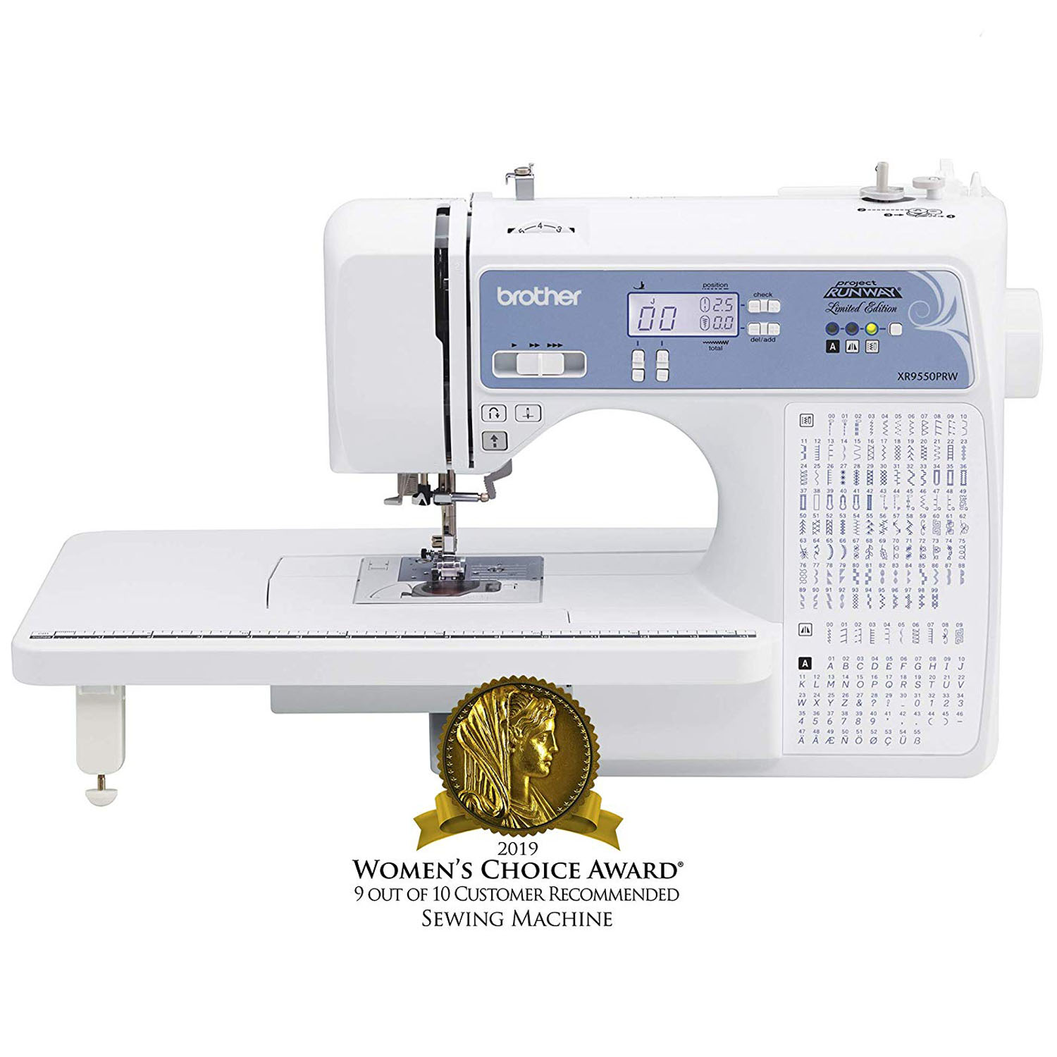 Brother XR9550PRW Project Runway Sewing Machine